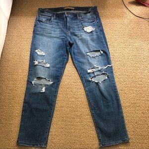 Joe's Boyfriend Slim Crop Jeans